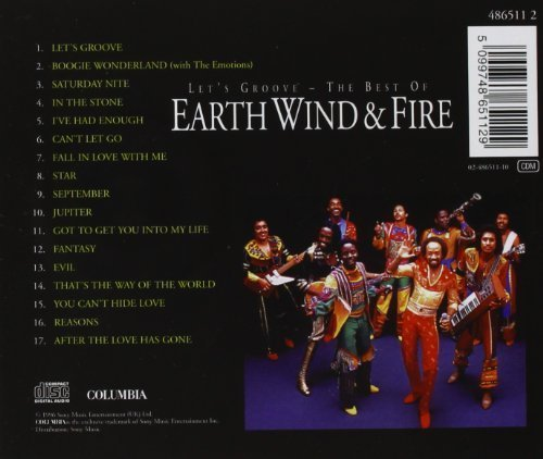 Bild 2: Earth Wind & Fire, Let's groove-The best of (17 tracks, 1996)