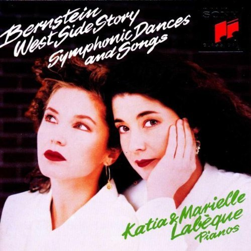 Bild 1: Katia & Marielle Labèque, West side story-Symphonic dances and songs (Bernstein, 1989)