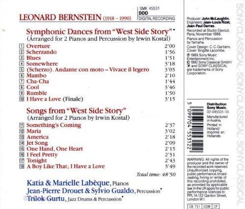 Bild 2: Katia & Marielle Labèque, West side story-Symphonic dances and songs (Bernstein, 1989)
