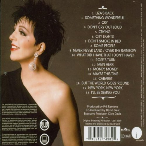 Bild 2: Liza Minnelli, Liza's back (2002)