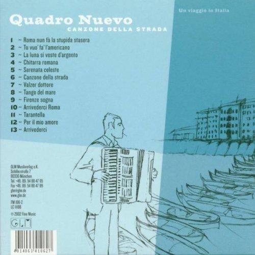 Bild 2: Quadro Nuevo, Canzone della strada (2002, digi)