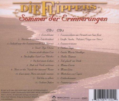 Bild 2: Flippers, Sommer der Erinnerungen (compilation, 24 tracks, 1989-95/2007)