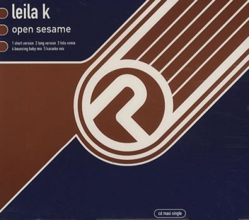 Bild 1: Leila K., Open sesame (UK, 5 versions, 1992)