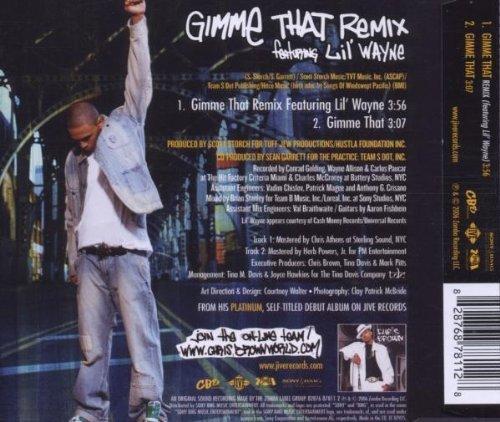 Bild 2: Chris Brown, Gimme that remix (2006, feat. Lil' Wayne)