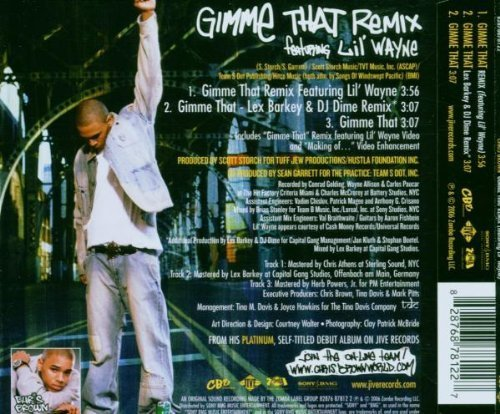 Bild 4: Chris Brown, Gimme that remix (2006, feat. Lil' Wayne)