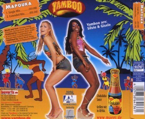Bild 2: Yamboo, Mapouka (2 tracks, 2005, & The Real Mapouka-Dancers)