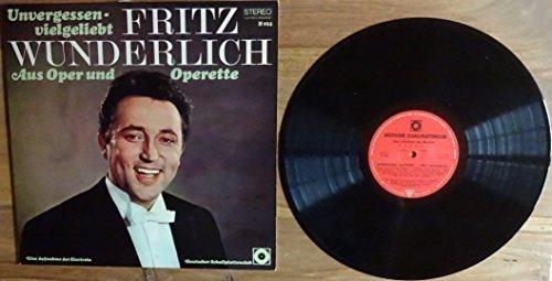 Bild 1: Fritz Wunderlich, Unvergessen, vielgeliebt-Aus Oper und Operette (Club)