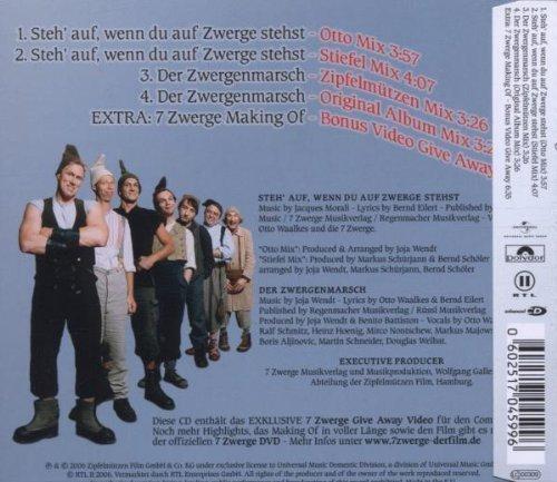 Bild 2: 7 Zwerge (2006), Steh' auf, wenn du auf Zwerge stehst (4 tracks/making of)