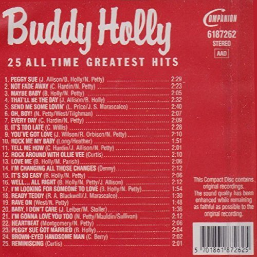 Bild 2: Buddy Holly, 25 all time greatest hits