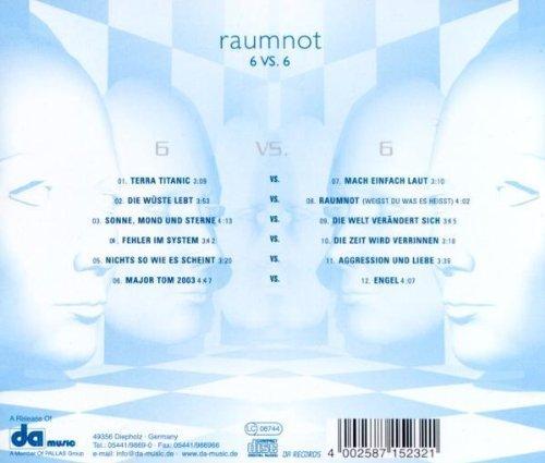 Bild 2: Peter Schilling, Raumnot 6 vs. 6 (2003)