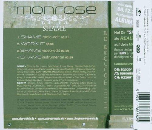 Bild 2: Monrose, Shame (2006)