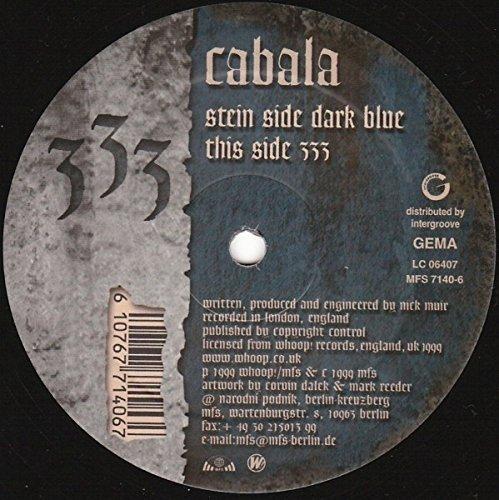 Bild 1: Cabala, Dark blue/333 (1999, #mfs7140-6)