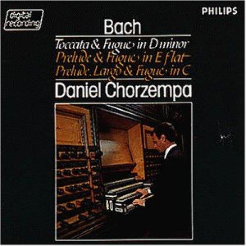 Bild 1: Bach, Toccata und Fuge d-moll, BWV 565/Präludium, Largo und Fuge C-dur, BWV 545.. (Philips, 1982) Daniel Chorzempa