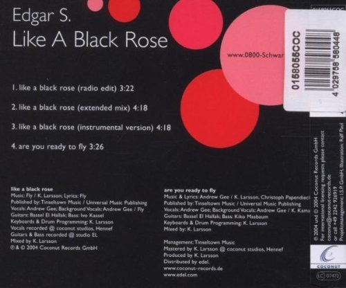Bild 2: Edgar S., Like a black rose (2004)