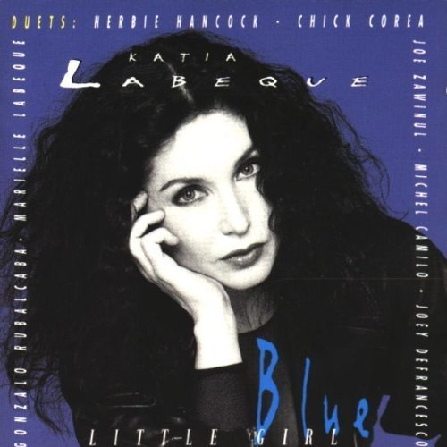 Bild 1: Katia Labèque, Little girl blue (1995, feat. Chick Coream Herbie Hancock, Joe Zawinul..)
