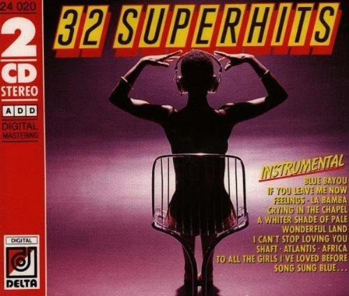 Bild 1: 32 Superhits instrumental (1988), T. Anderson, G.S.O., Brune Bertone, J. Fender, Ambros Seelos, R. De Cluny, Johnny Teupen..