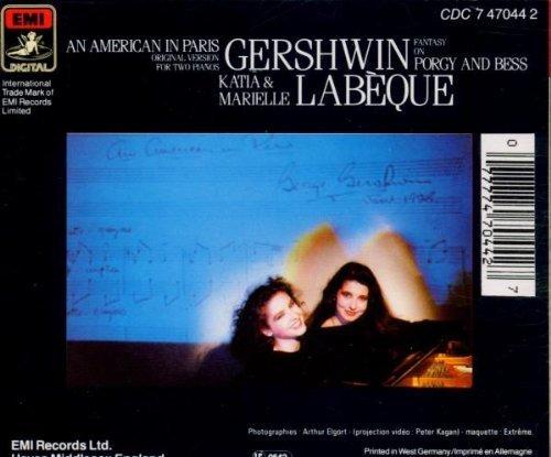 Bild 2: Katia & Marielle Labèque, Gershwin-An American in Paris etc. (1984)