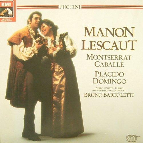 Bild 1: Puccini, Manon Lescaut (EMI, Box) (Montserrat Caballé, Placido Domingo, New Philharmonia Orch. London/Bruno Bartoletti)