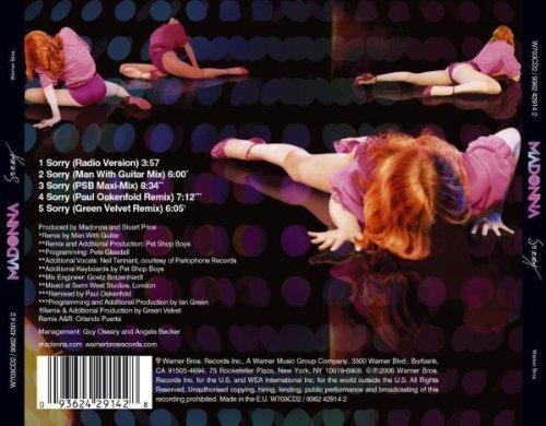 Bild 2: Madonna, Sorry (2006, #2429142)