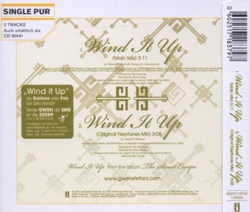 Bild 2: Gwen Stefani, Wind it up (2006; 2 tracks)