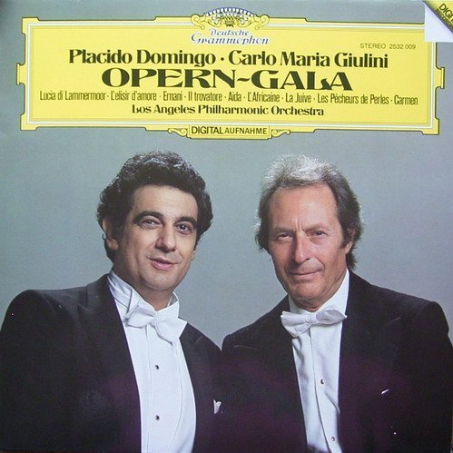 Bild 2: Plácido Domingo, Opern-Gala (DG, & Carlo Maria Giulini)