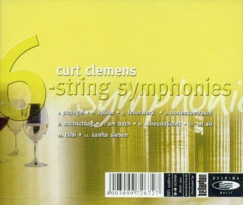 Bild 2: Curt Clemens, 6-string symphonies (2001)