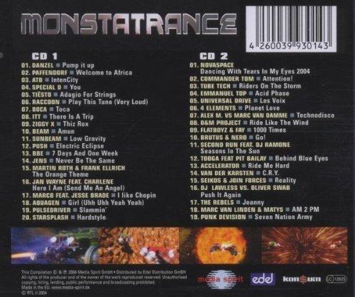 Image 2: Monstatrance (2004), Danzel, Paffendorf, ATB, Special D, Sunbeam, Aquagen, Novaspace..