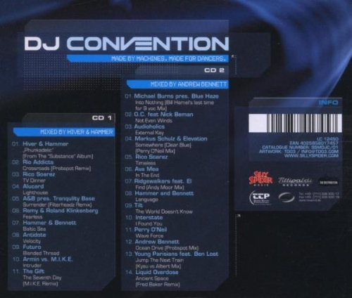 Bild 2: Hiver & Hammer, DJ convention 2004: Made by machines, made for dancers (mix)