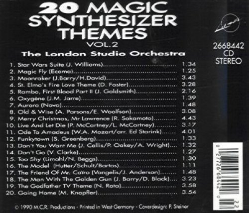 Фото 2: London Studio Orchestra, 20 magic synthesizer themes 2 (1990)