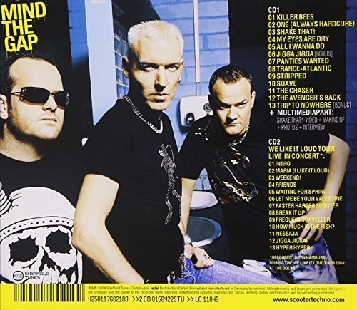Bild 2: Scooter, Mind the gap (2004, CD2: live; incl. poster)