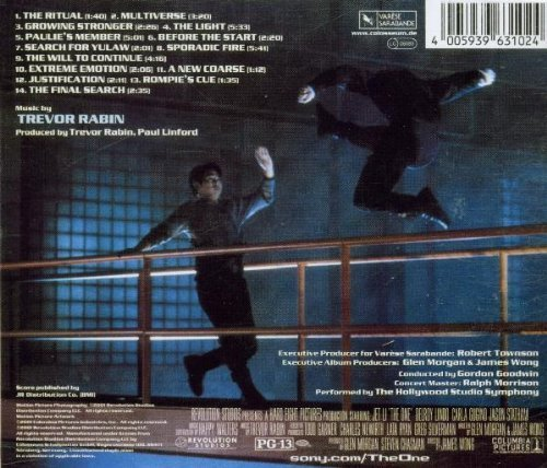 Bild 2: Trevor Rabin, The one (2001, soundtrack)