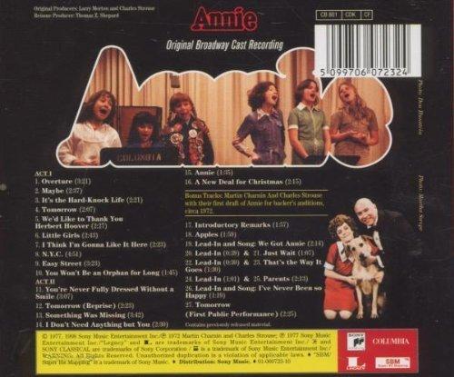 Bild 2: Annie (1977/98), Original Broadway cast