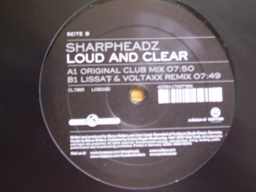 Bild 1: Sharpheadz, Loud and clear (Orig. Club, 2007)