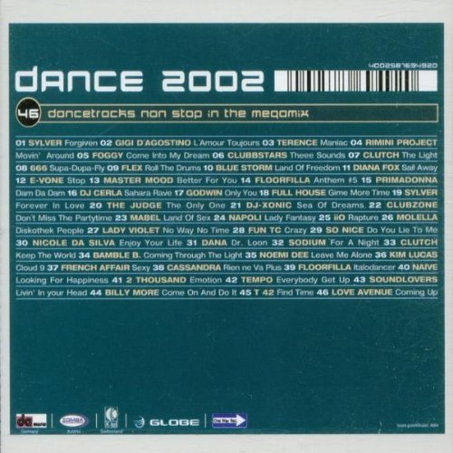 Bild 2: Dance 2002, Sylver, Gigi D'Agostino, Terence, Foggy, Diana Fox..