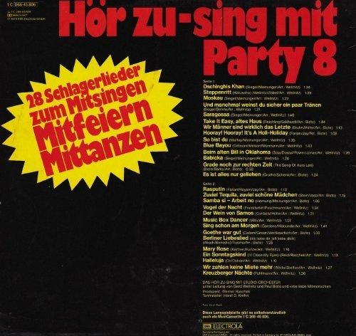 Bild 2: Hör Zu Sing mit Party 8, (1979)