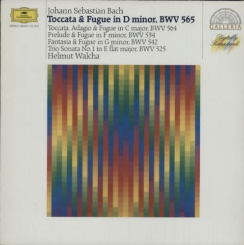 Bild 1: Bach, Toccata und Fuge d-moll, BWV 565.. (Helmut Walcha, Große Orgel der St. Laurenskerk, Alkmaar)