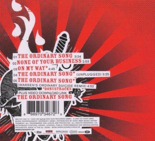 Фото 2: Die Happy, Ordinary song (2006, digi)