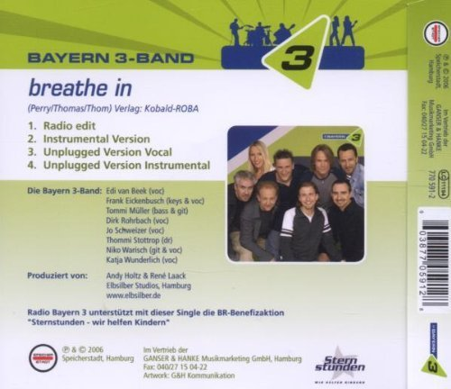 Bild 2: Bayern 3-Band, Breathe in (2006)