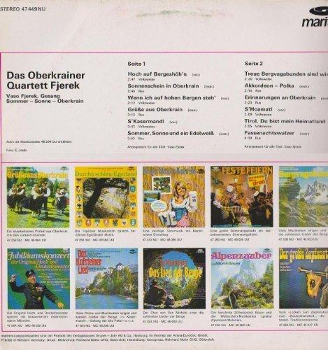 Bild 2: Oberkrainer Quartett Fjerek, Sommer-Sonne-Oberkrain