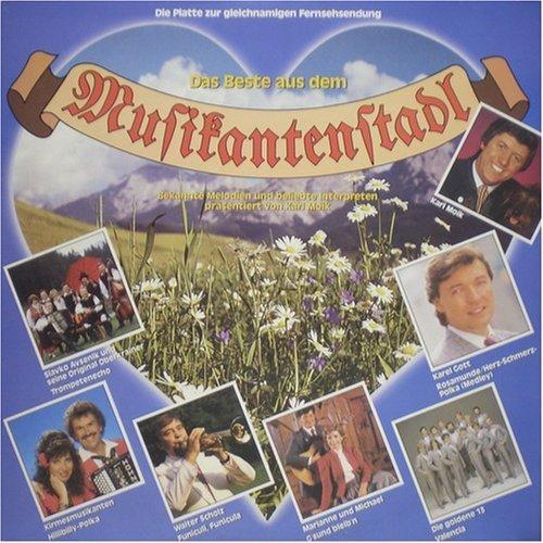 Bild 1: Musikanten Stadl-Das Beste aus dem..(1986), Slavko Avsenik, Hot Dogs, Karl Moik, Gitti & Erica, Goldene 13..