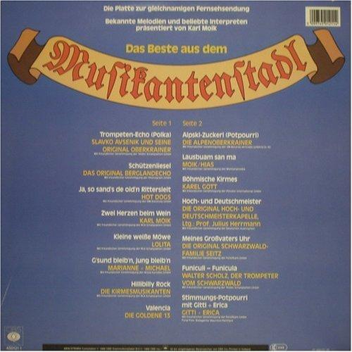 Bild 2: Musikanten Stadl-Das Beste aus dem..(1986), Slavko Avsenik, Hot Dogs, Karl Moik, Gitti & Erica, Goldene 13..