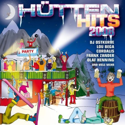 Bild 1: Hütten Hits 2008, Marquess, Olaf Henning, Cordalis, Disco Boys feat. Manfred Mann's Earth Band..