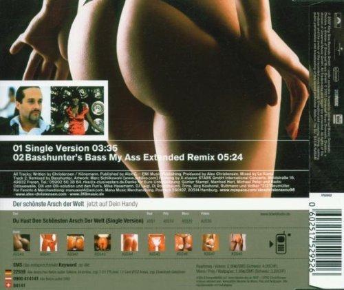 Bild 2: Alex C., Du hast den schönsten Arsch der Welt (2 versions, 2007, feat. Y-ass)