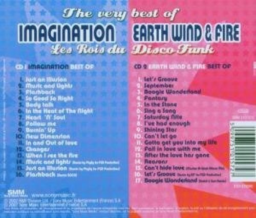 Bild 2: Imagination, Les rois du disco funk-The very best of (2002, CD2: Earth Wind & Fire)