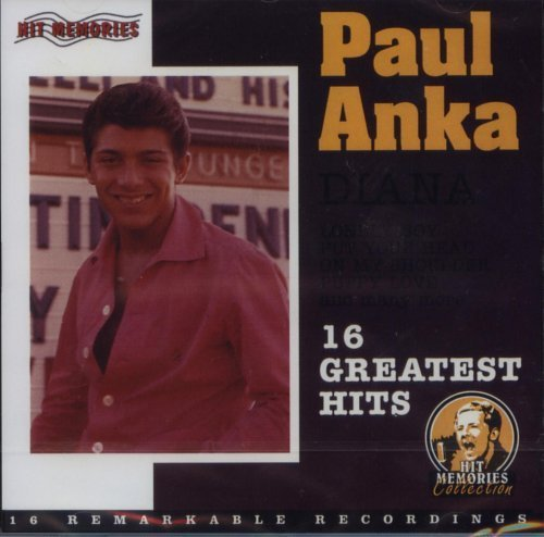 Bild 1: Paul Anka, Diana-16 greatest hits