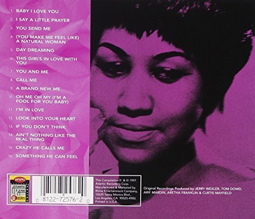 Bild 2: Aretha Franklin, Love songs (16 tracks, Warner)