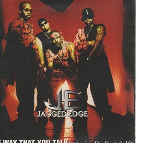 Bild 1: Jagged Edge, Way that you talk (Clean LP/4 excerpts, 1997, US, cardsleeve, feat. Da Brat & JD)