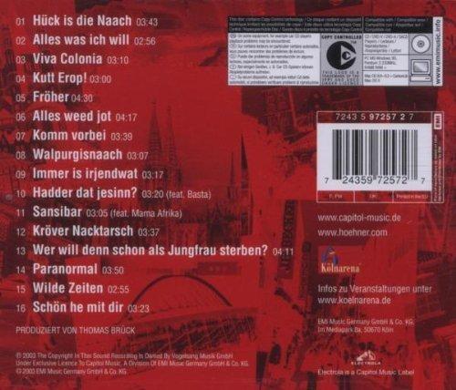 Bild 2: Höhner, Viva Colonia (2003)