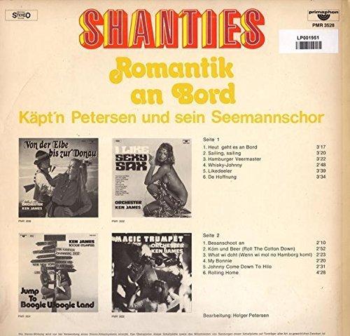 Bild 2: Matrosen singen Shanties und Lieder von der Waterkant, Peter Oldenburg, Bernd Jakschtat, Carl Bay..
