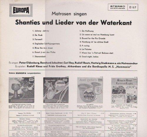 Bild 4: Matrosen singen Shanties und Lieder von der Waterkant, Peter Oldenburg, Bernd Jakschtat, Carl Bay..